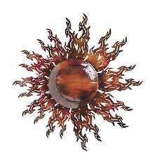 dazzling design ideas metal sun wall art reflective fall home decor wind and weather sunburst extra large for outside gold