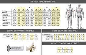Sabelt Race Suit Size Chart Kart Suits