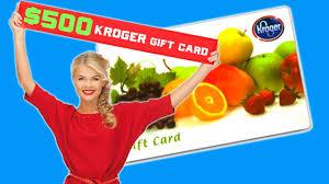 500 kroger gift cards columbus