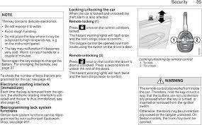 Infl Rest Warning Light Saab 2001 9 5 Owners Manual 95us1m01