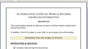 Form Authorization For Medical Records Kardas Klmphotography Co