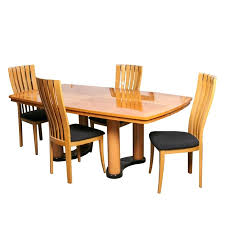 italian modern dining table and chairs by excelsior designs round tables
