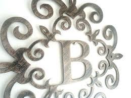 decorative iron wall art decorative letters for walls metal metal letter wall art terrific metal letters