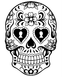 Small Picture Free Printable Day of the Dead Coloring Pages Best Coloring