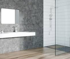 curbless zero entry shower