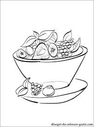 Disegno Di Macedonia Di Frutta Da Stampare Disegni Da Colorare Gratis