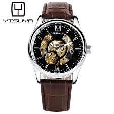 popular self winding watches men buy cheap self winding watches yisuya automatic mechanical watches men wristwatches business stylish man s watch self wind fashion analog luxury male