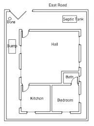 vastu house plan for an east facing plot 3