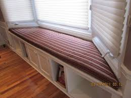 bay window seat cushion with matching pillows bay window seat cushion