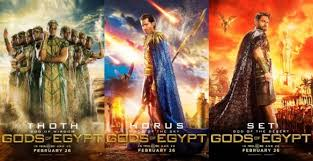 And while gods of egypt is a trainwreck, the feverish inventiveness of the imagery in dark city occasionally glimmers through, like in the scenes in which we see that the world in which the movie takes place is flat, an archaic idea of the layout of the universe brought to evocative life. Gods Of Egypt Movie Discussion Staceytuttle