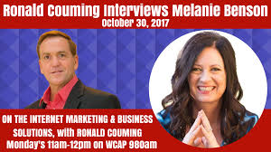 Ronald Couming interviews Melanie Benson, Small Business Optimizer, October  30th, 2017 - Greater Lowell Chamber of Commerce