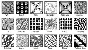 Zentangle Pattern Ideas Enchanting Magnificent Pattern Ideas Zentangle Best 48 Pa 48 Garden Decor