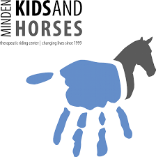 children and horses logo | Created from hands of children ...