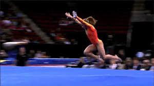 floor gymnastics shawn johnson. Shawn Johnson Gymnastics GIF Floor F