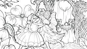 Fairy Coloring Pages Adults Printable Detailed For Free To Print Pro