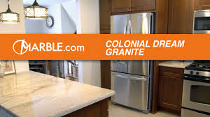 Colonial Cream Granite Kitchen Colonial Cream Granite Countertops Ii Youtube