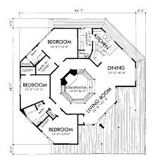 octagon house plans. Ranch House Plan First Floor - 072D-0706 | Plans And More Octagon H