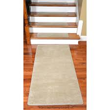 dean premium new zealand wool carpet stair treads madison natural 13 30