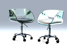 Image Swivel Chair Andeternity Acrylic Desk Chair Andeternitycom