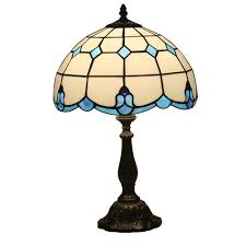Tiffany Style Bedroom Table Lamp Creative Vintage Baroque Desk Lamp