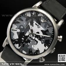 buy emporio armani camouflage leather strap men watch ar1816 buy emporio armani camouflage leather strap men watch ar1816