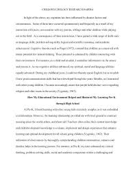 psychology research papers psychology research essay sample  psychology
