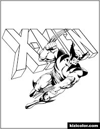 Wolverine, magneto, clyclope, etc … beautiful x men coloring page to print and color. Wolverine And X Men Logo Comic Kizi Free 2021 Printable Super Coloring Pages For Children X Men Super Coloring Pages