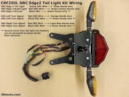 crfl drc edge tail light kit installation com wrr crf250l edge2 tail light kit wiring