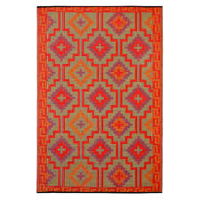 full size of lhasa orange and violet outdoor rugs made from recycled plastic mats dfohome