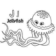 Small Picture 10 Lovely Jellyfish Coloring Pages For Your Toddler