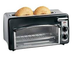 hamilton beach toastation 2 slice toaster and countertop oven black 22708