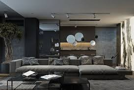 Modern Grey Living Room Ideas Regarding The House