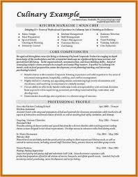 Cook Resume Examples Magnificent Culinary Arts Resume Template Clever Cook Resume Sample Examples 44 44