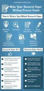 how to write a research paper fast visual ly how to write a research paper fast infographic