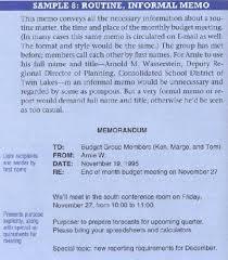 informal memo template heres a good sample of a routine informal memo keep it