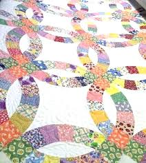 Double Wedding Ring Quilt Was Shared By Minnie While It Was Still ... & Double Wedding Ring Quilt Was Shared By Minnie While It Was Still Double  Wedding Ring Quilt Adamdwight.com