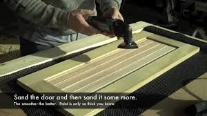 Build Own Kitchen Cabinets How To Build Kitchen Cabinet Doors Youtube
