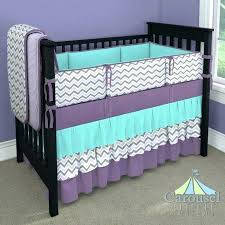 teal and purple baby bedding purple baby bedding crib in solid teal lilac and slate gray teal and purple baby bedding