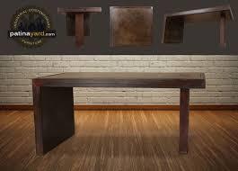 Contemporary Metal Desk