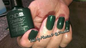 Sharon W Is Wearing 3 Coats Of Cnds Serene Green Shellac