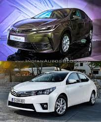 2016 Toyota Corolla (facelift) vs older model – Old vs New ...