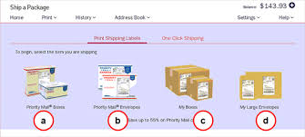 how to print a shipping label creating and printing a shipping label overview