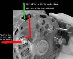 three wire alternator wiring diagram wirdig alternator wiring diagram on chevy 3 wire alternator wiring diagram
