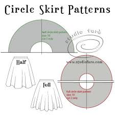 Circle Skirt Chart Patterns For Pleating Project 101