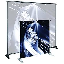 Artistic Displays Banner Stands Enchanting Artistic Displays Banner Stands Aluminum 32×32 Retractable Roll Up