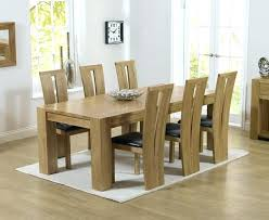 dining room table with 6 chairs solid oak dining table and 6 chairs the extending 2 dining room table with 6 chairs