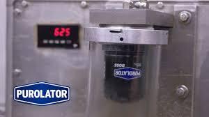 Under Pressure Putting Purolatorboss Oil Filters To The Test
