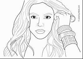 Rihanna Coloring Pages At Getdrawingscom Free For Personal Use