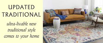 updated new traditional area rug collection rug usa