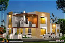 modern house floor plan and elevation of modern house kerala home design and on modern house plan with elevation